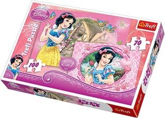 Набор пазлов 2 в 1 Trefl «Прекрасные Принцессы» Набор пазлов 2 в 1 Trefl «Прекрасные Принцессы» /