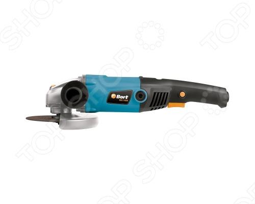 Машина шлифовальная угловая Bort BWS-1400N предназначен для сухого шлифования и резки металла. При применении соответствующих насадок инструмент может также применяться для щеточной обработки. Предусмотрена блокировка шпинделя, регулировка положения защитного кожуха без ключа и фиксация выключателя. Диаметр диска: 150 мм.