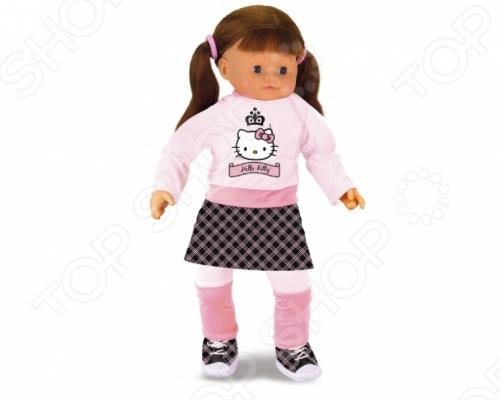 Кукла интерактивная Smoby Роксана - станет замечательным подарком для любой девочки. Ручки, ножки и головка куколки изготовлены из высококачественного пластика, а тельце - мягконабивное. Эмми одета в красивую современную одежду., а ей волосы можно расчесывать и делать новые интересные прически. Высота куклы - 36 см. Игрушка отлично подходит для сюжетно-ролевых игр которые помогут ребенку развить навыки социального общения, воображение и логическое мышление.