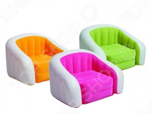 Кресло надувное Intex 68571. В ассортименте