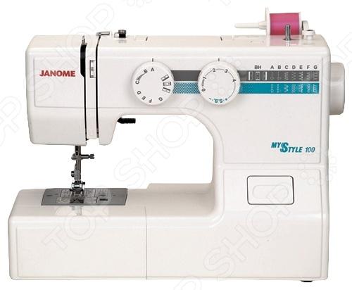 Швейная машина Janome MS 100 швейная машинка janome sew mini deluxe