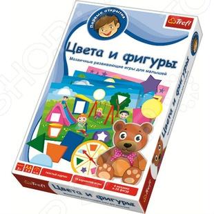 Игра обучающая Trefl «Первые открытия: Цвета и фигуры» trefl цвета и фигуры