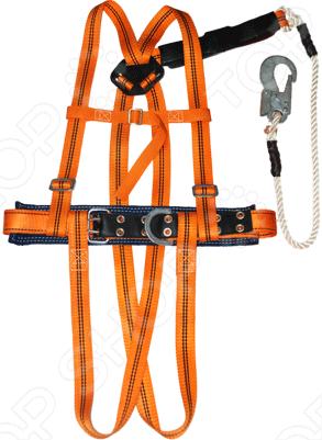 Пояс страховочный РОС ПП-2ВЖ (канат)Безопасность работ<br>Пояс страховочный РОС ПП-2ВЖ - это обязательная предохранительная вещь для строителей и высотников, выдерживает большой вес. Применяется для защиты от падения, безопасного спуска и подъема работающего на открытых пространствах при выполнении работ на высотных сооружениях.<br>