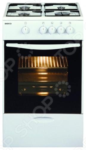 Плита Beko CSG 52000 W плита газовая beko csg 42111 gw