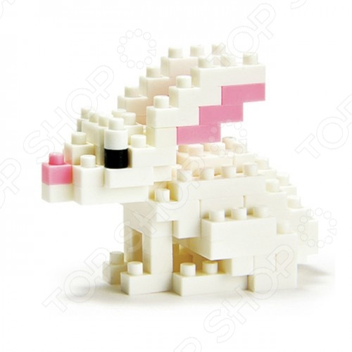 Мини-конструктор Nanoblock «Кролик» Мини-конструктор Nanoblock NBC_030 «Кролик» /