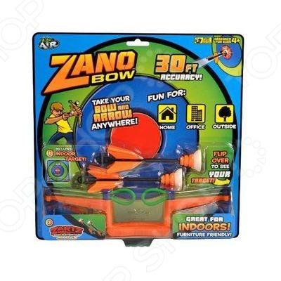 Лук Zing Zing Air Zano Bow оружие, с которым малыш почувствует себя настоящим стрелком. Снарядами для лука служат стрелы с присосками из вспененной резины, они абсолютно безобидные и не причинят вреда здоровью. Выстрел производится на расстояние до 14 метров! Ребенка ждет увлекательный игровой процесс, и веселые перестрелки с друзьями во дворе. Особенности:  Оригинальный дизайн модели  Новый качественный материал.