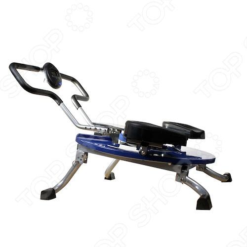 Эффективный кардиотренажер Джимформ Пауэр Диск Эб Эксесайзер поможет вам построить прекрасное тело, сэкономив ваши деньги и время на тренажерном зале! Выполняя тренировки с этим тренажером вы совершаете круговые движения, которые стимулируют активную работу сердца, все мышцы брюшного пресса, а также большинство мышц спины. Также эффективно кардиотренажер воздействует на ягодицы и бедра, одним легким движением превращаясь в тренажер для нижней группы мышц. Кардиотренажер для похудения поможет распрощаться с лишними килограммами. Джим форм Пауэр Диск Эб Эксесайзер может применяться при любом уровне спортивной подготовки, имеет 6 различных уровней сопротивления. Этот механизм просто создан для домашнего использования, помогая вам экономить свое время и деньги на тренажерных залах. Многофункциональный кардиотренажер для дома приведет тело в порядок! Имеется цифровая панель управления. Функции панели управления:  Время: показывает продолжительность тренировки.  Счетчик: показывает количество повторов упражнения в процессе текущей тренировки.  Общий счетчик: показывает общее количество повторов упражнений за все время использования тренажера.  Калории: отображает информацию о количестве сжигаемых калорий.  Сканер: отображает информацию всех функций попеременно с обновлением каждые 4 секунды. Внимание: использовать только в домашних условиях; запрещается использовать в фитнес-клубах, школах, салонах, больницах, в домах для престарелых.