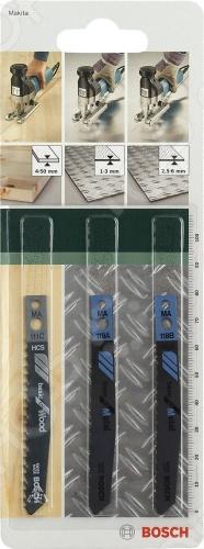 Набор пильных полотен Bosch SET MA-ХВ bosch bosch 10 zhi отвертка головы set easy успеха зеленый [6949509201188]