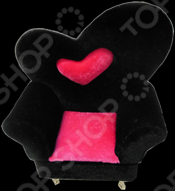 Шкатулка X11-307H - станет оригинальным подарком для девушки. Шкатулка в форме дивана с алым сердечком предназначена для хранения украшений и бижутерии. Модель имеет зеркальце и несколько отсеков внутри. Благодаря своему оригинальному дизайну, шкатулка станет украшением любого интерьера.