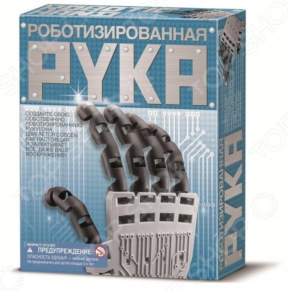 Конструктор для изобретателей Набор для изобретателей 4M «Роботизированная рука»