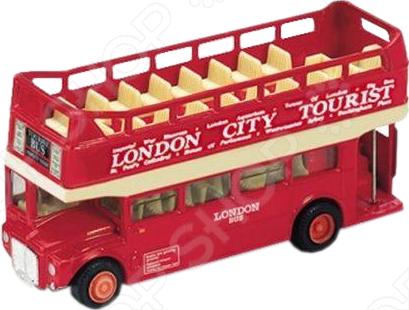 Модель автобуса 1:34-39 Welly London Bus 99930C. В ассортименте