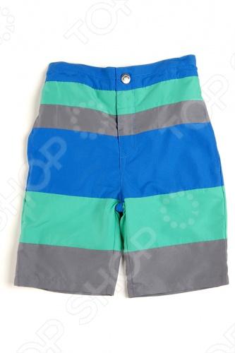 Шорты в полоску Appaman Striped SwimШорты для мальчиков<br>Appaman - основан в 2003 году дизайнером Харальдом Хузуме. Appaman имеет уникальный взгляд на скандинавский стиль AMERIPOP. Хузум находит вдохновение на улицах Бруклина и переводит его в свою постоянно меняющуюся палитру ярких одежд. Appaman, воплощая свои яркие творческие проекты, не забывает об удобстве и качестве для маленьких и главных людей. Вы считаете, что детская одежда должна быть не только удобной, но также стильной и индивидуальной Тогда бренд Appaman USA для Вас! Шорты в полоску Appaman Striped Swim - яркие шорты бермуды для плавания с застежкой на молнию и кнопку. По бокам расположены удобные втачные карманы, сзади прорезные карманы. Модель трехцветная, выполнена из качественного материала сочных расцветок. Состав: 100 полиэстер.<br>