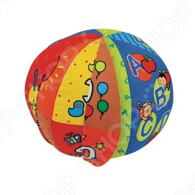 Говорящий мяч - это замечательный подарок для вашего малыша. Мяч можно перекидывать друг другу, и он произносит цифры и буквы. Теперь играть станет еще интереснее и веселее.
