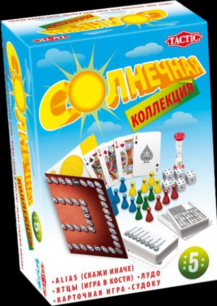 Настольная игра Солнечная коллекция