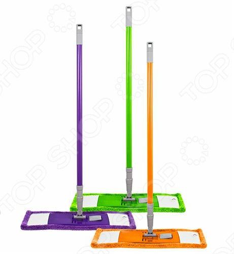 Швабра Фэйт Флэт. В ассортиментеШвабры и щетки<br>Товар продается в ассортименте. Цвет товара при комплектации заказа зависит от наличия цветового ассортимента товара на складе. Швабра Фейт Флэт - удобная, легкая, красивая швабра для мытья полов и других поверхностей. Основными особенностями данной модели стали: подвижное крепление ручки к моющей платформе с насадкой, металлическая телескопическая ручка, пластиковая платформа и сменная насадка из микрофибры. Она подходит для сухой и влажной уборки. Насадка из микрофибры с легкостью удаляет пыль, не оставляя разводов и ворсинок. А короткий ворс насадки идеально подходит для финишной протирки пола. Порадуйте себя и свой любимый дом столь приятным, а главное полезным подарком ,как швабра Флэт от компании Фейт!<br>