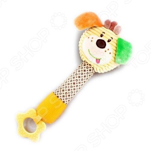 фото Игрушка-прорезыватель Жирафики «Собачка Шарик», Пустышки и прорезыватели для зубов