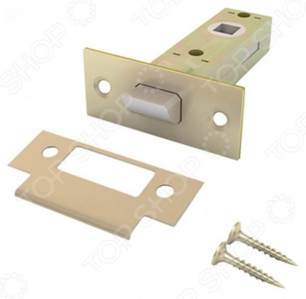 Механизм защелки РОС «Модель 100» 66445Скобяные изделия и замки<br>Механизм защелки РОС Модель 100 66445 хром - предназначена для установки в комплекте с дверными ручками соответствующих цветов. Изготовлена из качественных материалов, быстро и легко крепиться. Защелка, управляемая дверными ручками. Данное изделие подходит для ручек следующих моделей: 66407, 66413, 66419, 66426. В комплектации: ответная планка и крепеж. Поставляется в блистерной упаковке.<br>