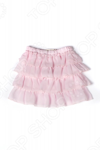 Юбка детская Appaman Ruffle Skirt. Цвет: розовыйПлатья. Сарафаны. Юбки<br>Детская юбка Appaman Ruffle Skirt станет любимой вещью в гардеробе маленькой модницы. Ведь эта юбка с каскадом рюшей и оборок придает образу очаровательную легкость и воздушность! А эластичная резинка на поясе и подкладка из хлопка обеспечивают абсолютный комфорт. Попробуйте комбинировать эту юбку с футболкой и сапожками или кроссовками , чтобы создать идеальный детский костюм для каждодневной носки. Состав: 100 полиэстер. Американский бренд Appaman основан в 2003 году дизайнером Харальдом Хузуме. Он создает уникальные наряды в стиле AMERIPOP. Хузум находит вдохновение на улицах Бруклина, работая над многообразной палитрой ярких одежд. Воплощая свои творческие проекты, дизайнер не забывает об удобстве и качестве детских вещей. Вы считаете, что наряд Вашего ребенка должен быть не только удобным, но также стильным и индивидуальным Тогда бренд Appaman для Вас!<br>