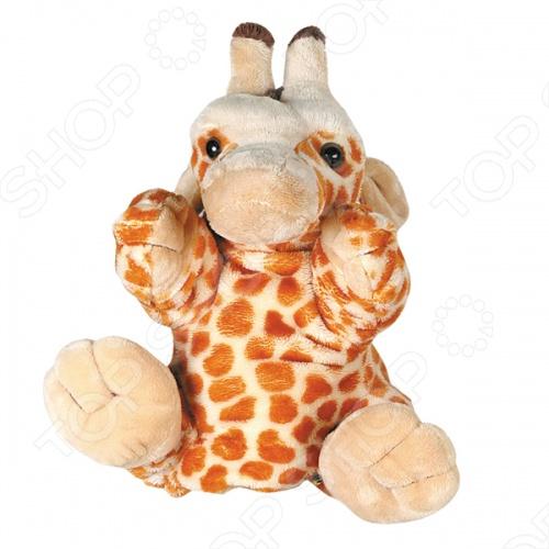 Игрушка-рукавичка Gulliver Жираф игрушка на пружинке жираф