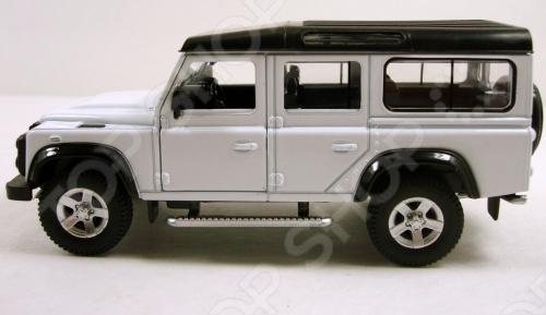 Модель автомобиля RMZ City Land Rover Defender. В ассортиментеМодели авто<br>Товар продается в ассортименте. Цвет изделия при комплектации заказа зависит от наличия цветового ассортимента товара на складе. Модель автомобиля RMZ City Land Rover Defender это коллекционная модель, которая является копией настоящего автомобиля. Она изготовлена из металла с элементами пластика. У машинки открываются двери, есть реалистичные световые и звуковые эффекты. Во время игры с такой машинкой у ребенка развивается мелкая моторика рук, фантазия и воображение. Масштаб модели 1:64.<br>