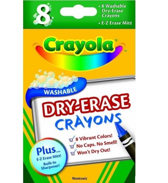 Набор восковых мелков Crayola Dry-Eras