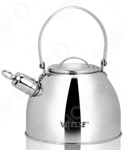 Чайник со свистком Vitesse Classiс VS-7806 сковорода со съемной ручкой vitesse classiс vs 7204
