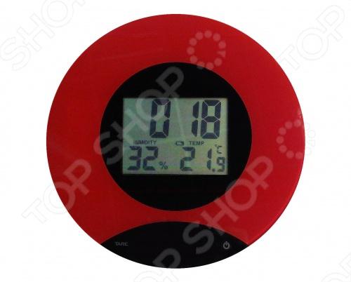 Кухонные весы со встроенными часами и термометром ТР02