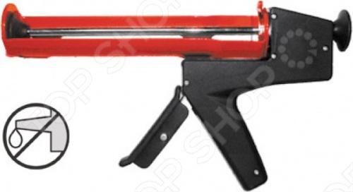Пистолет для герметика FIT это профессиональный пистолет для выдавливания герметика из емкости 310 мл , с противовесом и ручкой из противоударного пластика. Пистолет удобен при длительной работе. Инструмент изготовлен из инструментальной стали и алюминия, оснащен противокапельной системой и отличается повышенной износоустойчивостью.