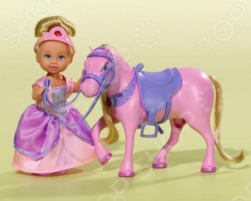 Кукла еви Simba с лошадью