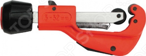 Труборез Мини FIT - это профессиональный инструмент тип А2 3-32 мм, служащий для резки труб из цветных металлов и позволяющий получать ровную и четкую линию разреза, оснащен рычагом для ускоренной работы и упрочненным резаком. Применяется при работе в труднодоступных местах. Разрезания трубы происходит при помощи дисковых роликов резцов, изготовленных из инструментальной стали.