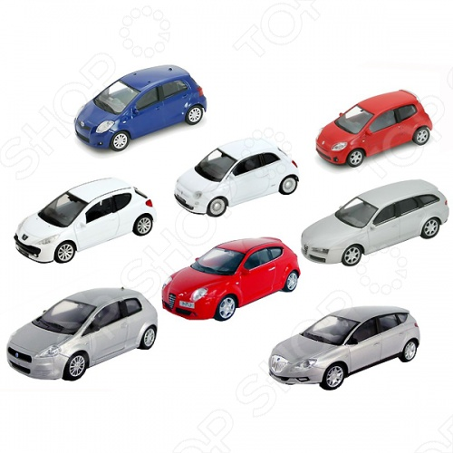 Модель машины 1:43 Welly 44000W В ассортиментеМодели авто<br>Товар продается в ассортименте. Цвет изделия и модель при комплектации заказа зависит от наличия товарного ассортимента на складе. Модель машины 1:43 Welly 44000W представляет собой модель, являющуюся точной копией настоящего автомобиля. Большая достоверность и похожесть настоящего транспортного средства обеспечивается наличием всех деталей, которые есть в реальной жизни: зеркалами заднего вида, выхлопной трубой, фарами, открывающимися дверями. Она будет прекрасным подарком для вашего малыша, так как это не только игрушка, но и полезная вещь, во время игры с которой у ребенка развивается мелкая моторика рук, воображение и фантазия.<br>