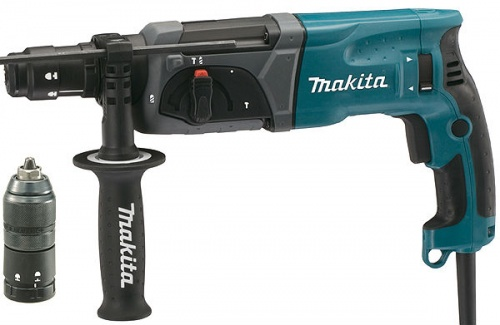 Перфоратор Makita HR2470FT demo шура руки вверх алена апина 140 ударов в минуту татьяна буланова саша айвазов балаган лимитед hi fi дюна дискач 90 х mp 3
