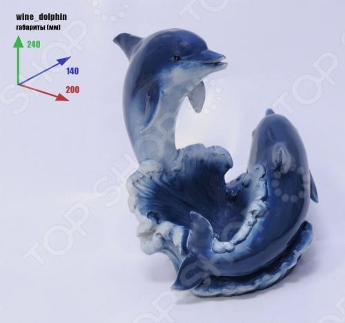 Подставка для вина Drivemotion «Дельфины»