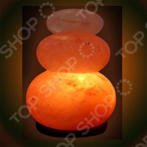 Лампа солевая Zenet Волна двойная  солевая лампа zenet волна 2 4 кг