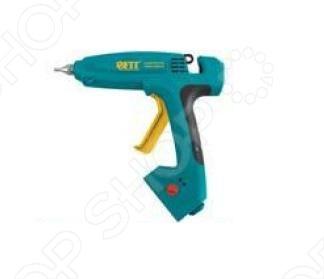 Пистолет клеевой FIT 14360 очень практичен и удобен в использовании. Предназначен для склеивания различных материалов, а также для профессионального использования. Быстрый нагрев происходит за 1-2 мин. Максимальная мощность 1000 Вт номинальная - 125 Вт . Регулировка температуры 100-150-200С . К особенностям можно отнести - световые индикаторы в корпусе, указывающие на наличие напряжения в сети и на готовность пистолета к работе. Материал: корпус из термостойкого пластика, инструментальная сталь. Упаковка: блистер.