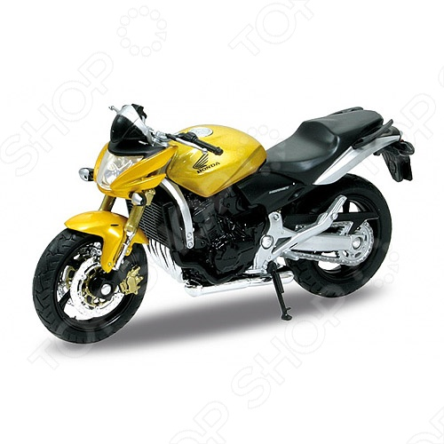 Модель мотоцикла 1:18 Welly Honda Hornet. В ассортименте
