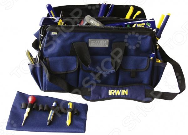 Сумка-органайзер для инструмента Irwin широкая где можно сумку шанель в саратове