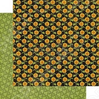 фото Бумага для скрапбукинга двусторонняя Graphic 45 Enchanted Garden, купить, цена