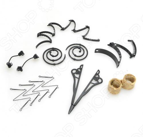 Заколки для волос в наборе Bradex «Сто Причесок»