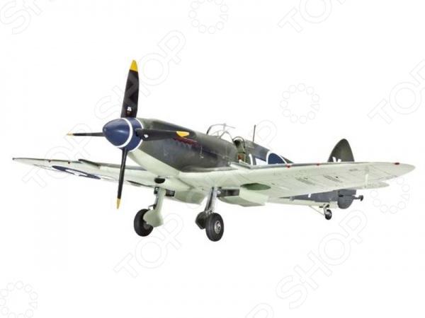 Сборная модель самолета Revell Supermarine Seafire F Mk XVАвиамодели<br>Сборная модель Supermarine Seafire F Mk XV представляет собой точную копию настоящего военного самолета. Состоит из 120 деталей, которые юный механик должен собрать сам. Во время игры с такой крылатой машиной у ребенка развивается мелкая моторика рук, фантазия и воображение. Истребитель времен Второй мировой войны выпущен известной компанией по производству игрушек Revell. Изготовлен из пластика и обладает потрясающей детализацией. Сборная модель Supermarine Seafire F Mk XVявляется отличным подарком не только ребенку, но и коллекционеру. В комплект входят клей, кисточка и краски.<br>