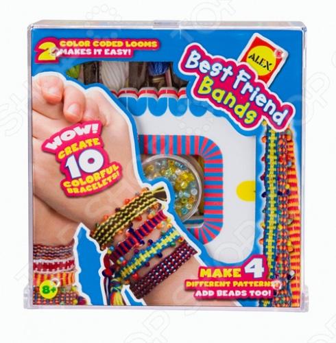 Набор для плетения браслетов Alex «Лучшие друзья» ульева елена александровна лучшие друзья