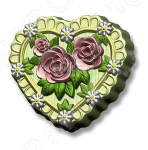 Форма пластиковая Выдумщики «Сердце в розах»