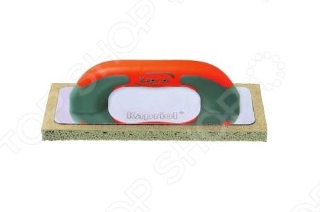 Терка штукатурная KAPRIOL с твердой губкой  kapriol 50 см 23215 шпатель для финишных работ с ручкой progrip