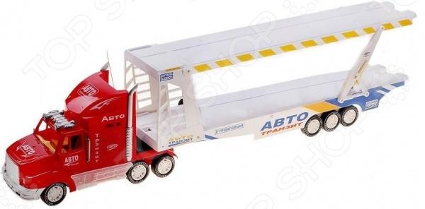 Автотрейлер с машинами на радиоуправлении Zhorya Х75415 Х75415