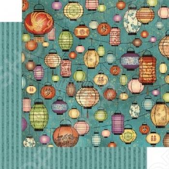 фото Бумага для скрапбукинга двусторонняя Graphic 45 Enlightenment, купить, цена