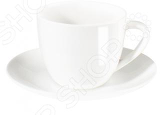 Чайная пара Asa Selection A table 1929/013Чайные и кофейные пары<br>Чайная пара Asa Selection A table 1929 013 выполнен из костяного фарфора высокого качества. Великолепная износоустойчивость при маленьком весе и стильный современный дизайн являются основными достоинствами компании ASA selection лидера по изготовлению продукции из фарфора и керамики. Серия привлекает своей текстурой и приятным дизайном, именно поэтому эта серия так часто встречается в ресторанах и гостиницах всего мира. Костяной фарфор это прочный и надежный материал, который позволяет Вам использовать эту посуду не только для сервировки праздничных столов по особым случаям, но и в повседневной жизни. Уникальные свойства этого материала достигаются за счет добавления в жидкую смесь каолина белой глины , полевого шпата и кварца. После того как изделию придана необходимая форма, приступают к обжигу при температуре свыше 1200 градусов, что придает изделиям такой уникальный оттенок. Кроме того, посуда этой марки пригодна для разогревания пищи в микроволновой печи и мытья в посудомоечной машине.<br>