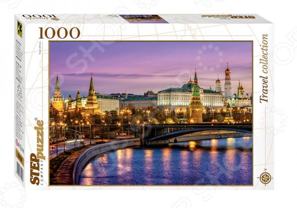 Настольная игра Москва. Набережная, Пазл 1000 деталей