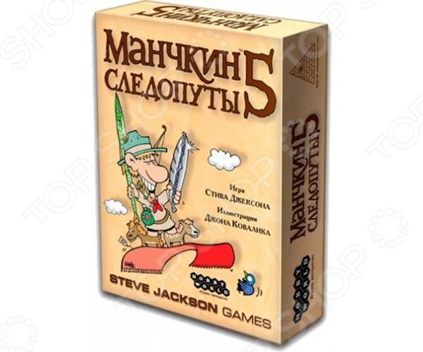 Игра настольная Мир Хобби «Манчкин 5. Следопуты» настольная игра озэто за рулем 5 480749
