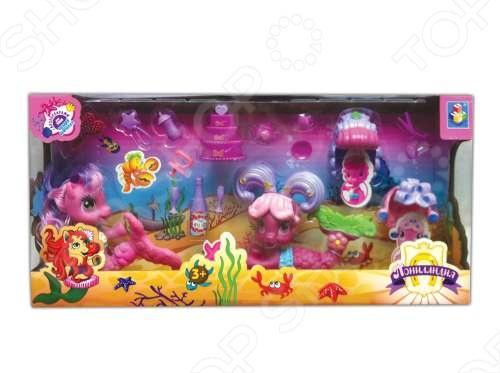 Набор из 2-х пони-русалочек с аксессуарами 1 Toy Т56607