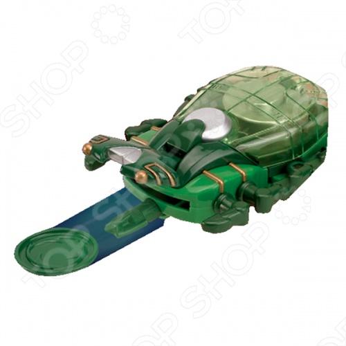 Пластиковая игрушка HAP-P-KID «Дискомет Ниндзя» игрушки для ванны hap p kid игрушка для ванной со световым эффектом крабик